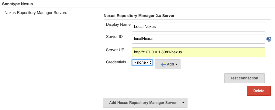 How do I configure the Nexus Jenkins Plugin – Sonatype Support